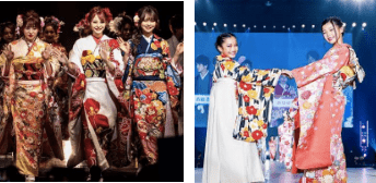 『京都さがの館』がプロデュースした着物