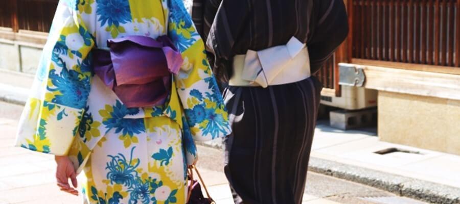 カップルで着物レンタル!思い出に残る京都観光を