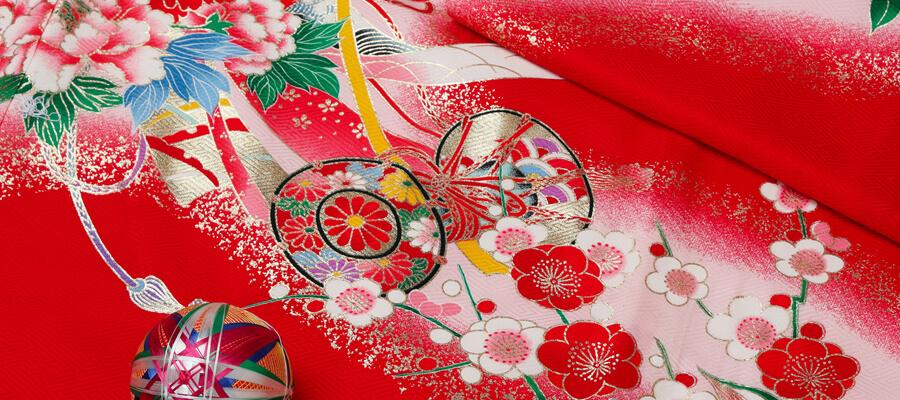 着物の柄から感じる日本の四季!旬のものを選ぼう