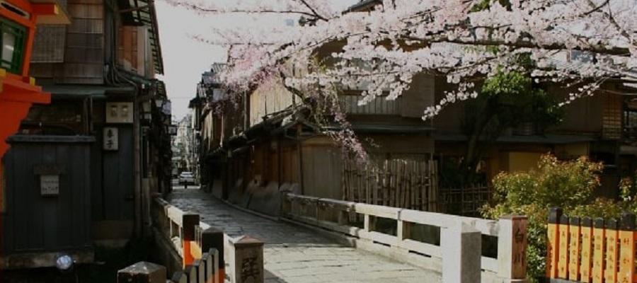 京都の祇園白川エリア