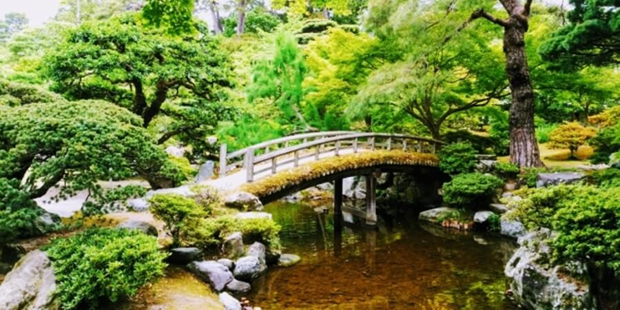京都御所内の御苑