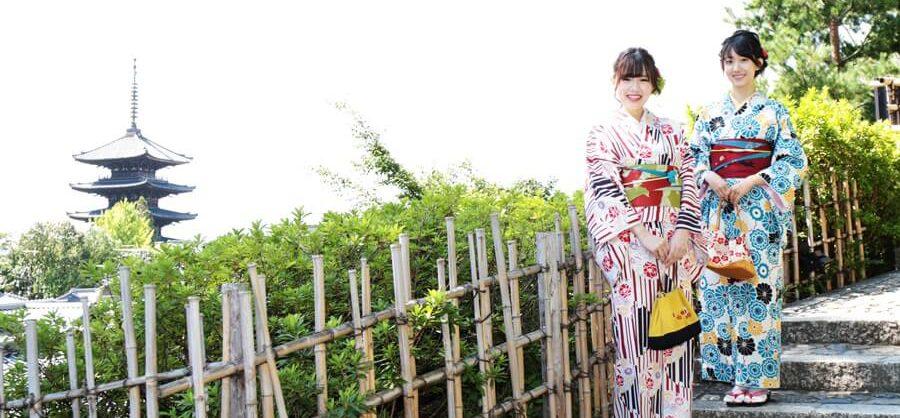 京都で着物体験!体験学習で今人気の理由って?