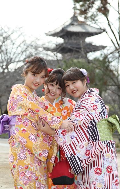 女子三人旅行方案画像