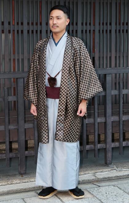 Men's kimono plan