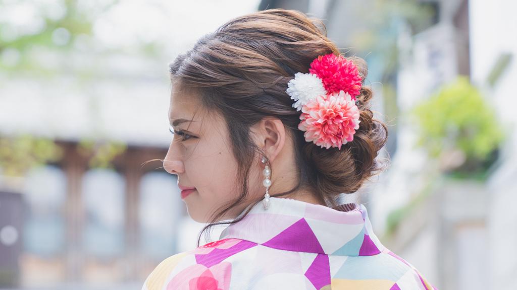 【写真持ち込み可】京都の着物レンタルで欠かせない高コスパのヘアセットとは?