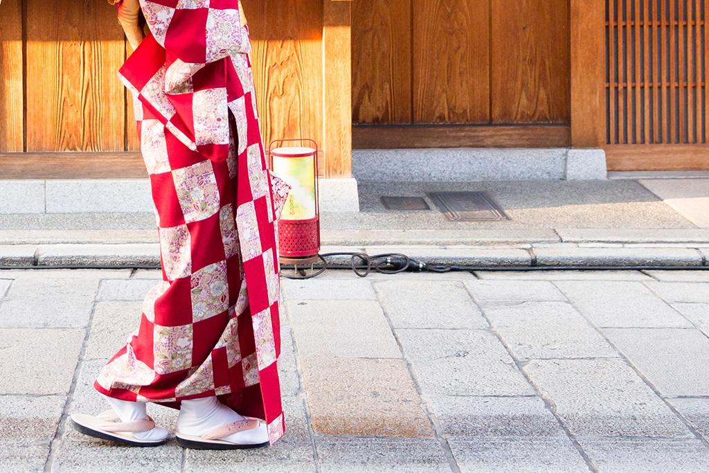 着物に着替えたらさっそく町歩き