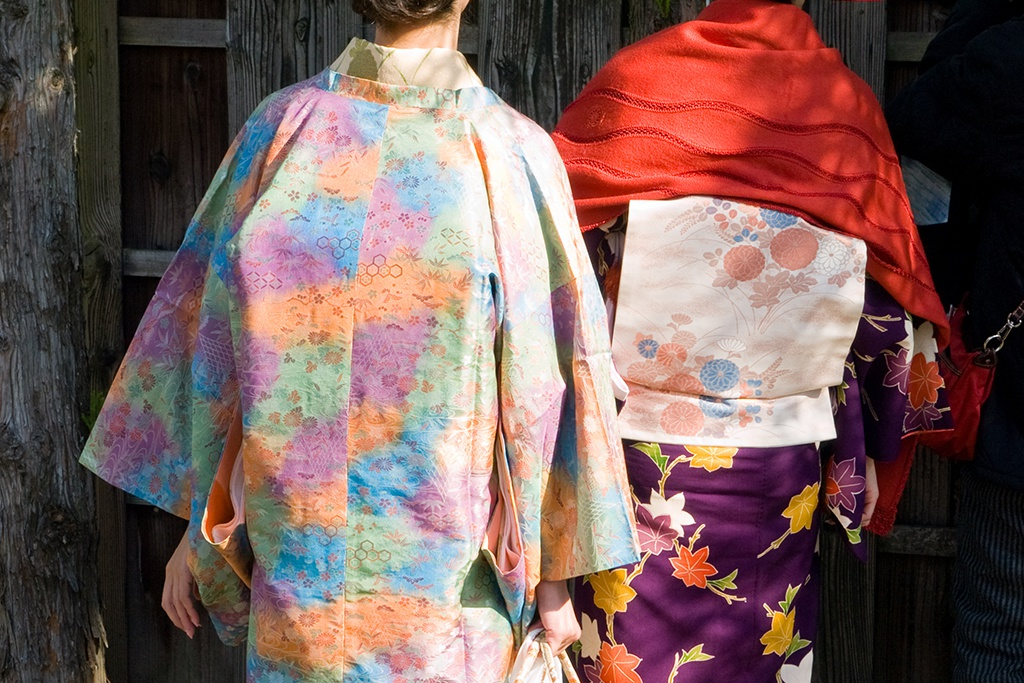 色で羽織を選ぶ